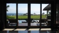 Endlich Ruhe: Blick aus einer Villa des Shanti Ananda
