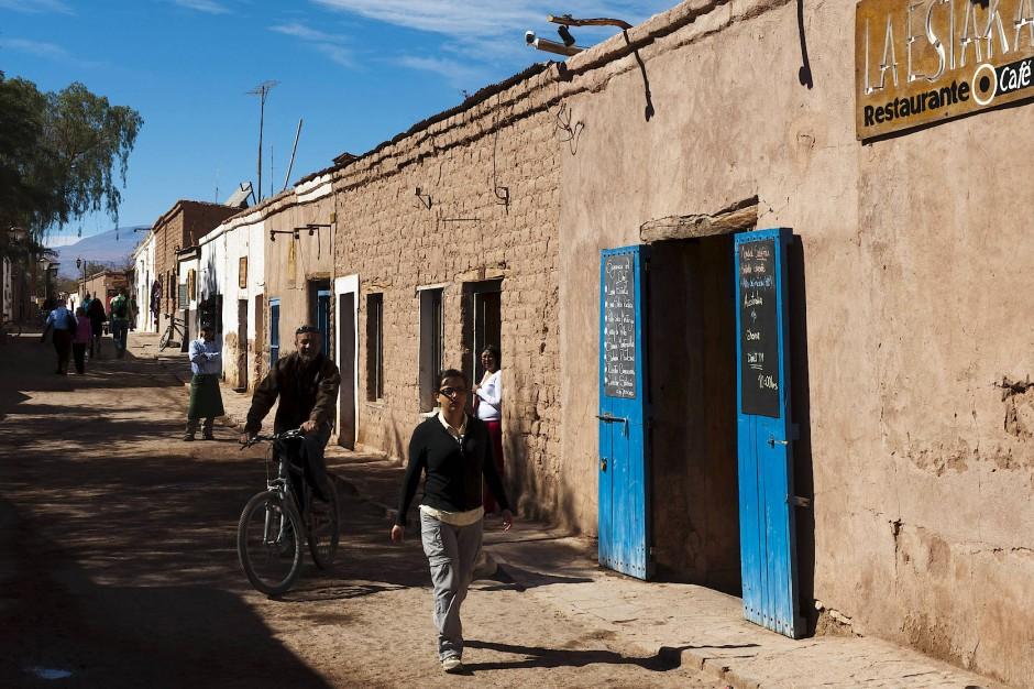 Das globale Dorf: San Pedro de Atacama, Ausgangspunkt für viele Wüstentrips.