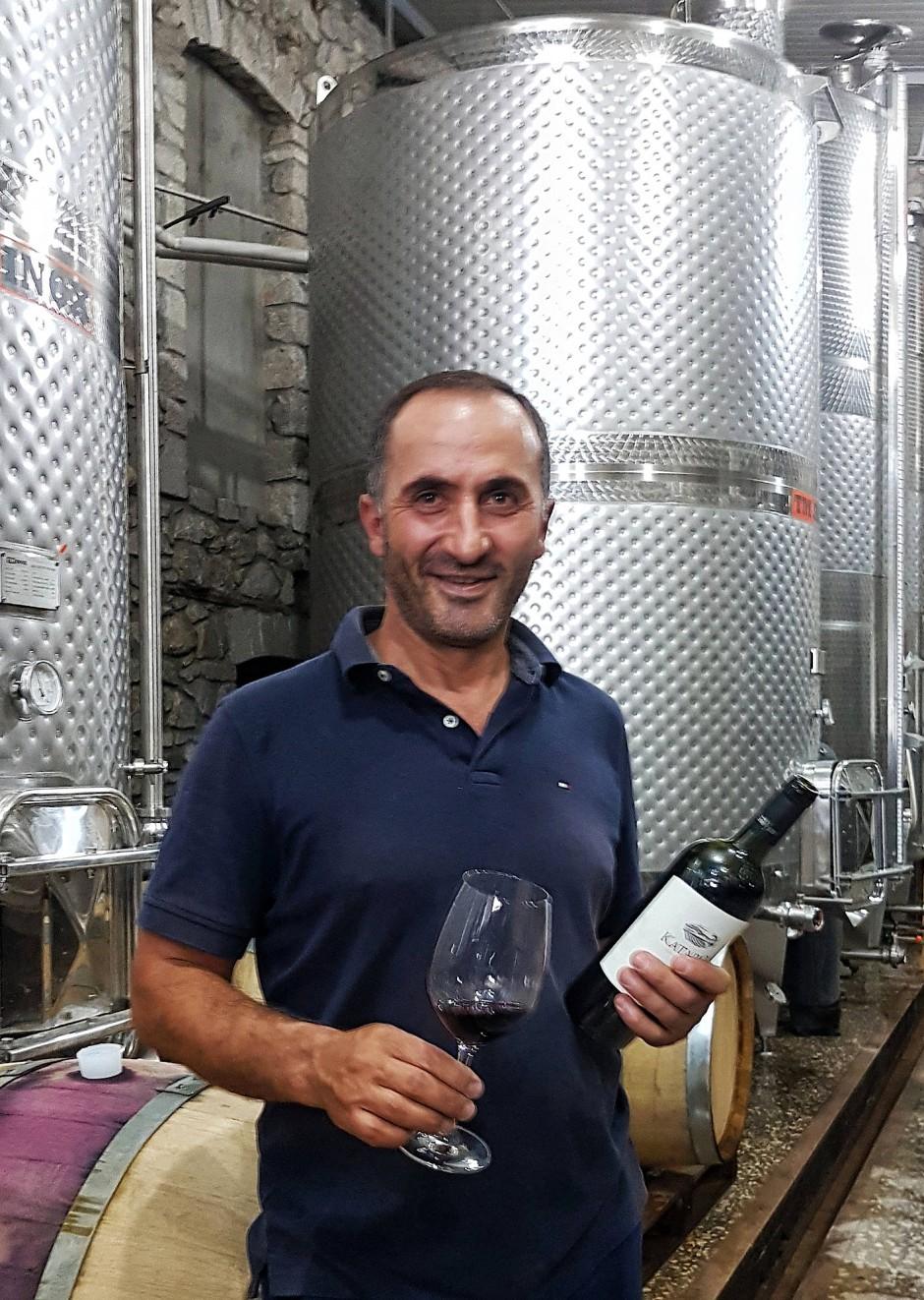 """Grigori Avetissyan führte seine """"Kataro Wines"""" im Dorf Togh an die Landesspitze."""