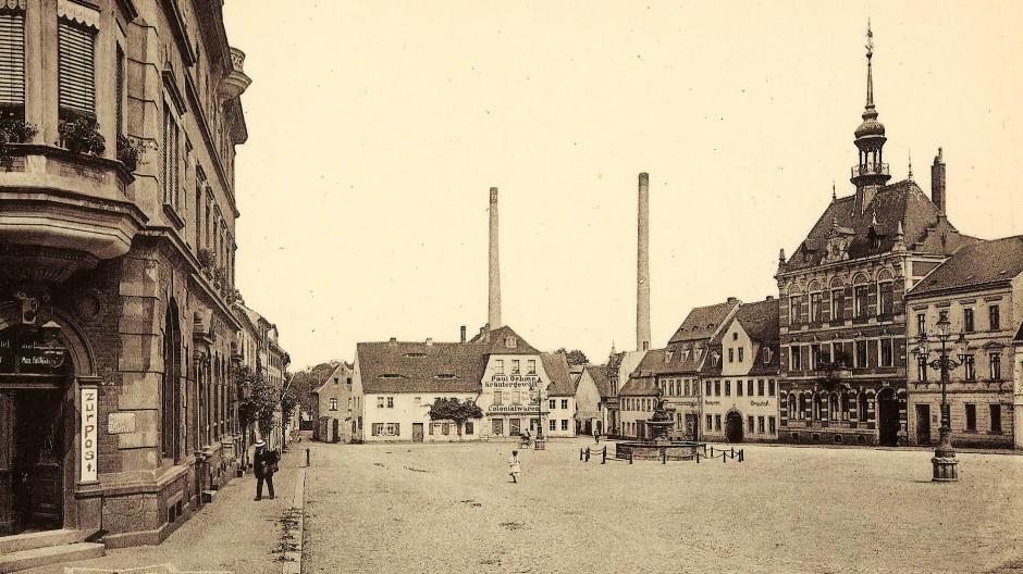 Marktplatz Frohburg