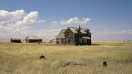 """Edward Hoppers melancholisches Amerika ist nicht weit: """"Wyeth Landscape"""" aus dem Jahr 2000."""