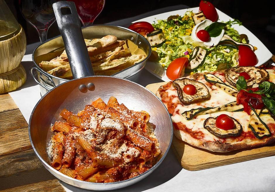 Nicht so schlecht für eine Küche, die traditionell eine eher arme ist: Pasta in Rom.