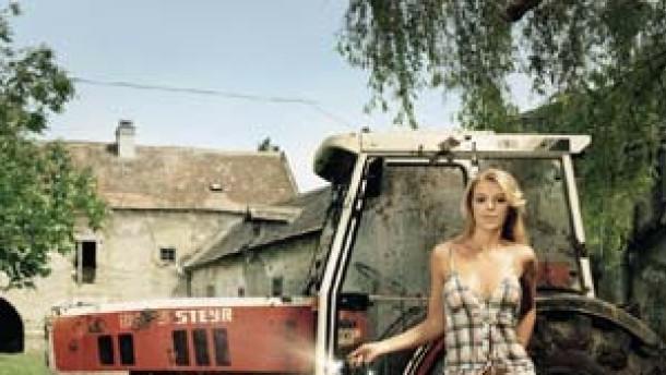 Komm auf meinen Traktor