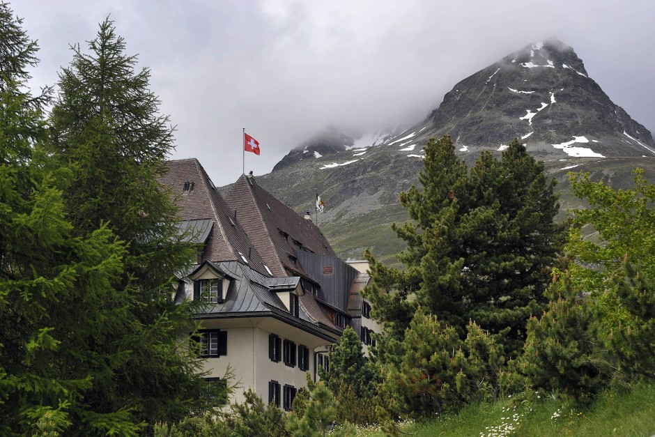 Familienunternehmen: Das Hotel Suvretta in angenehmer Randlage zum Gewimmel.