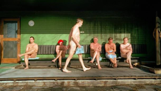 fkk sauna luft in vagina