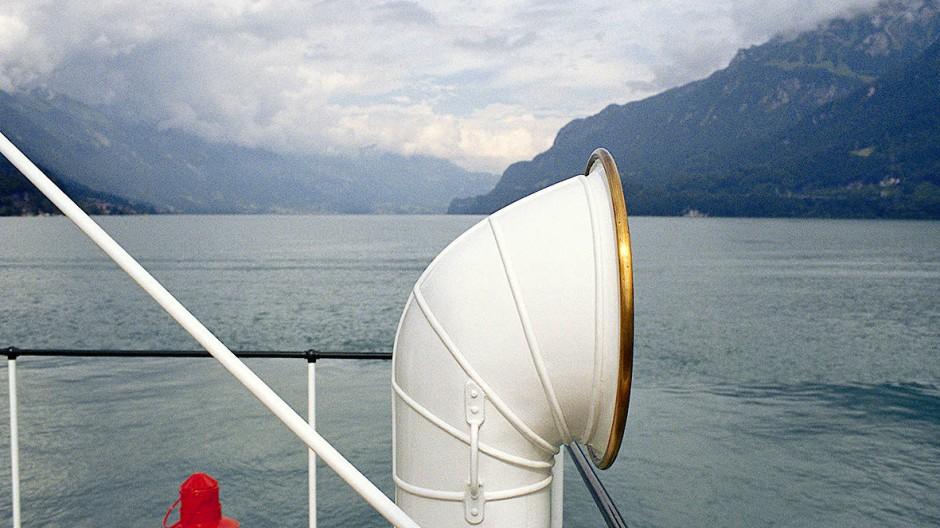 Sicher über den See: Auch wenn alles funktioniert, kann das faszinierend sein.