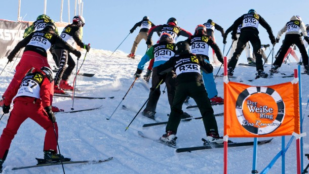 Der Weisse Ring 2012, Lech Zuers, Schnee, Ski, Snowboard, Rennen