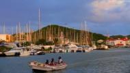 Endlich Karibik! Wer mit seinem Segler in St. Lucia ankommt, war vorher drei Wochen auf dem Atlantik unterwegs.