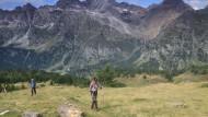 Unterwegs zwischen Italien und der Schweiz