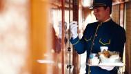 Feiner kann man fast nicht an eine Tür klopfen: An Bord des Venice-Simplon-Orient-Express