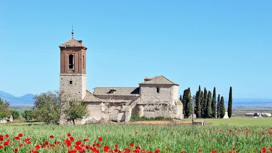 Verlassene Kirche in Caudilla, Provinz Toledo