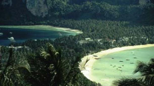 An einem fernen Strand