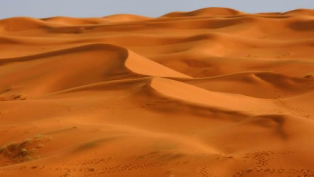 Sand in Sicht