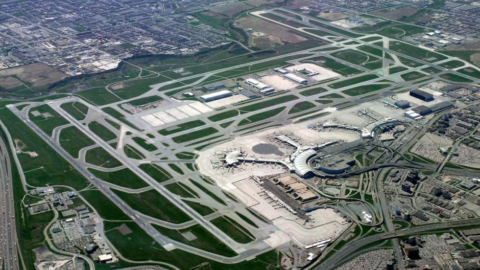 Ort des Schreckens: der internationale Flughafen von Toronto