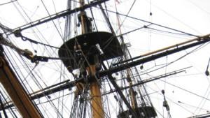 Auf dem Schiff des Helden von Trafalgar