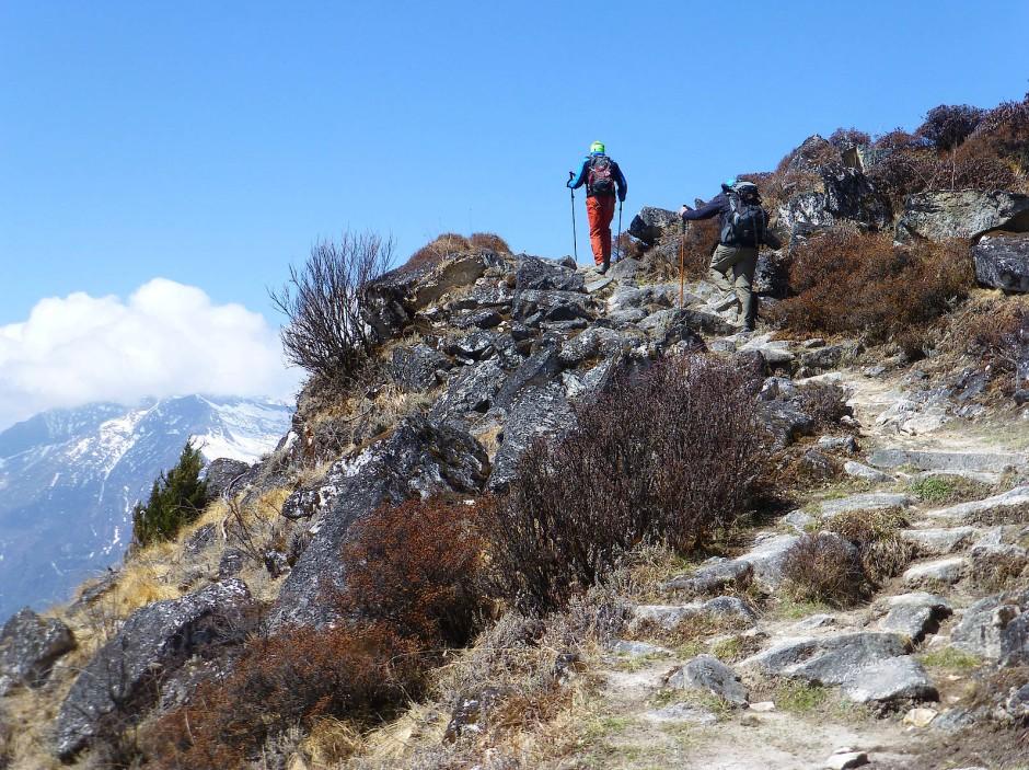 Wandern muss man noch selbst: eine Etappe auf dem Chomolhari-Trek.