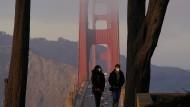Die Golden-Gate-Brücke in San Francisco