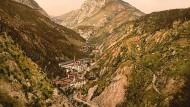 Toscolano-Maderno: Etwa vierzig Papierfabriken drängten sich einst in dem schmalen Tal.