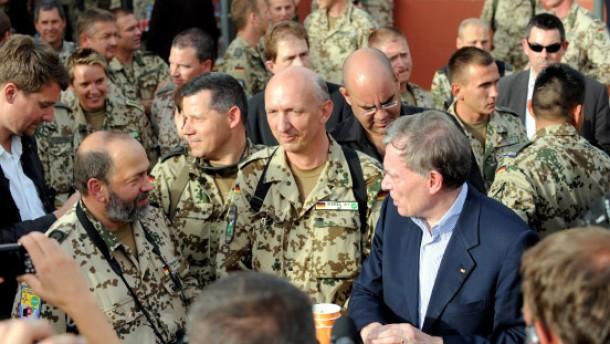 Erste und letzte Dienstreise nach Afghanistan