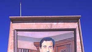 Führerkult  um Saddam Hussein