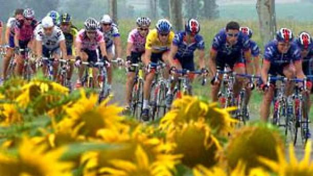 Unterkünfte am Rande der Tour de France sind Mangelware