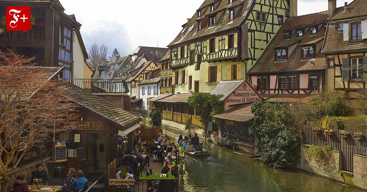 Straßburg und Colmar im Elsass