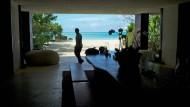 Einst Versteck für Piratinnen, heute Rückzugsort für Prominenz: Das Ferienhaus von Donna Karan auf den Turks- und Caicos.