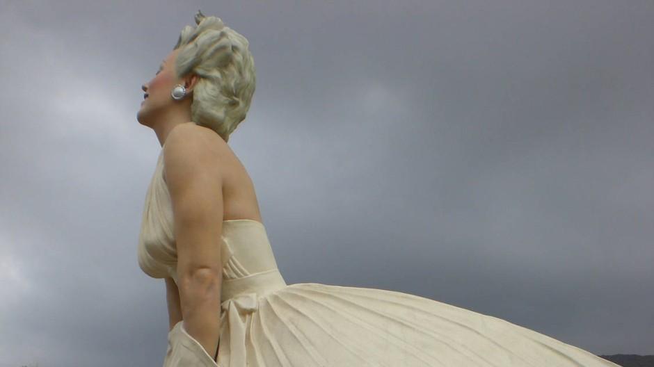 Manche mögen's heiß: Seward Johnsons überdimensionale Marilyn-Statue in Palm Springs