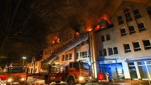 Sechsstelliger Schaden durch Großbrand