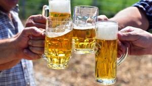 WM und Wärme fördern den Bier-Absatz
