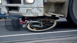 Radler von Laster überrollt – Polizei ermittelt gegen Gaffer