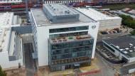 Kerngeschäft: Das 210 Millionen Euro teure, 2016 eröffnete Motorentestzentrum in Rüsselsheim soll neben anderen Gebäuden an Segula übergehen