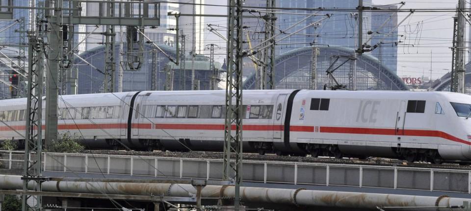 Deutsche Bahn Köln Frankfurt
