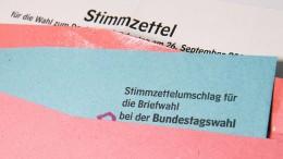 Bundestagsabgeordnete, Rathauschefs und Landräte zu wählen