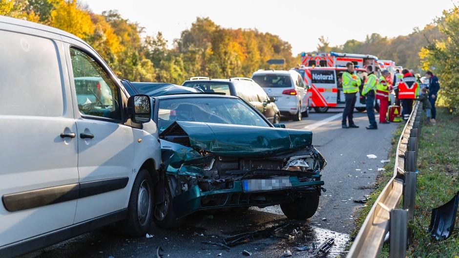 Erfreulich: Es gab so wenige Unfälle wie nie zuvor in einem November.