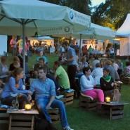 Zeitweiser Ausschank: Heimische Produkte gibt es beim Mainzer Weinmarkt.