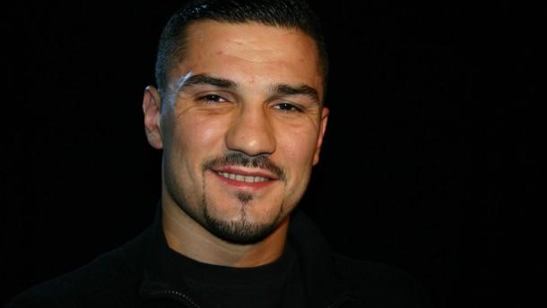 Boxer Licina liebt Frankfurt