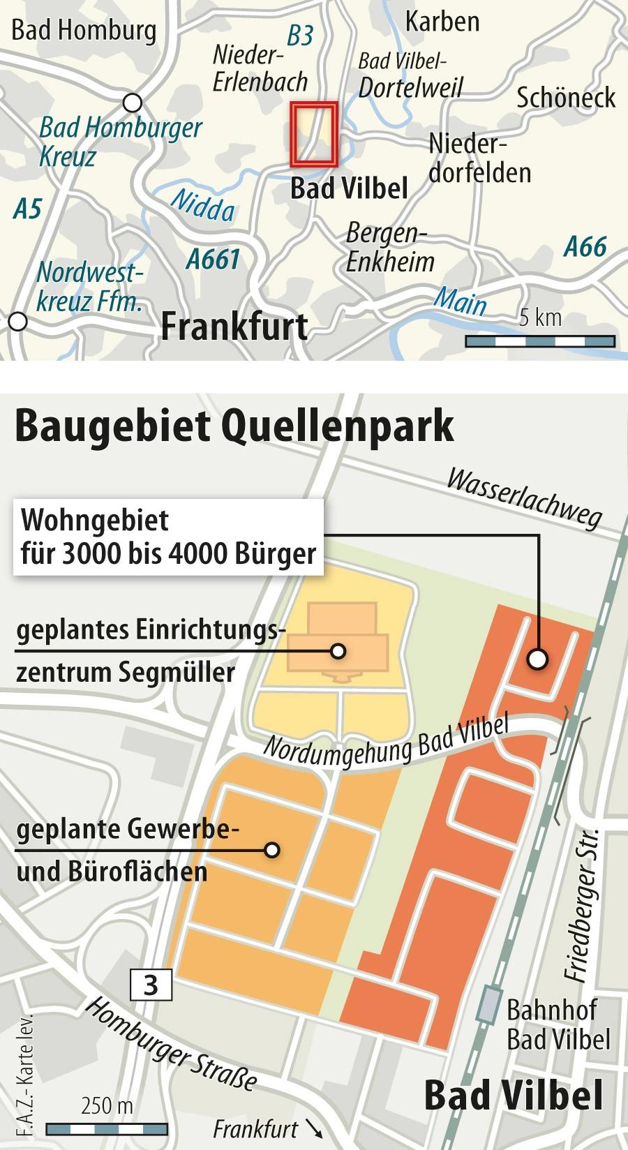 """Quellenpark Bad Vilbel: bsage der hinesen """"hance für die egion ..."""