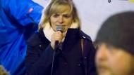 Muss fortan mit ihrer Gruppe unter anderem Namen auftreten: Heidi Mund, Sprecherin der bisher Pegida Rhein-Main genannten Initiative