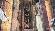 Rätsel: Wer in diesem Sarkophag liegt, ist noch unklar