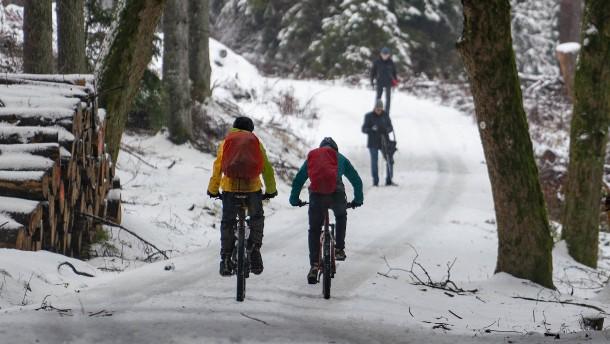 Im Bergland soll es schneien