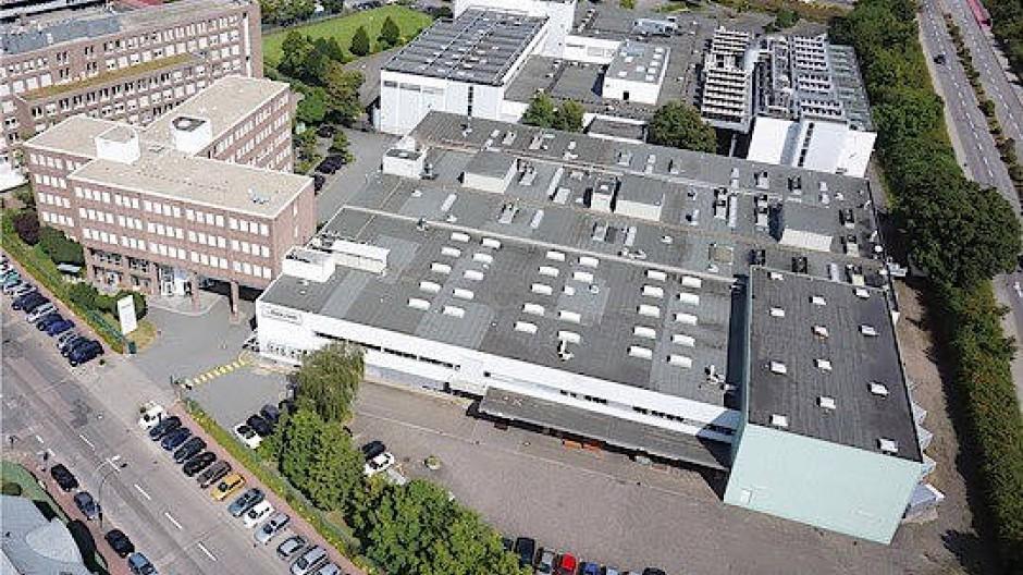 Beschäftigt noch 200 Leute: Werkzeug-Hersteller Walter in Frankfurt