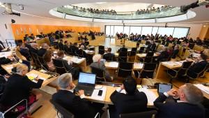 Sondersitzung des Hessischen Landtags