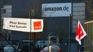 Streikpause bei Amazon am Sonntag