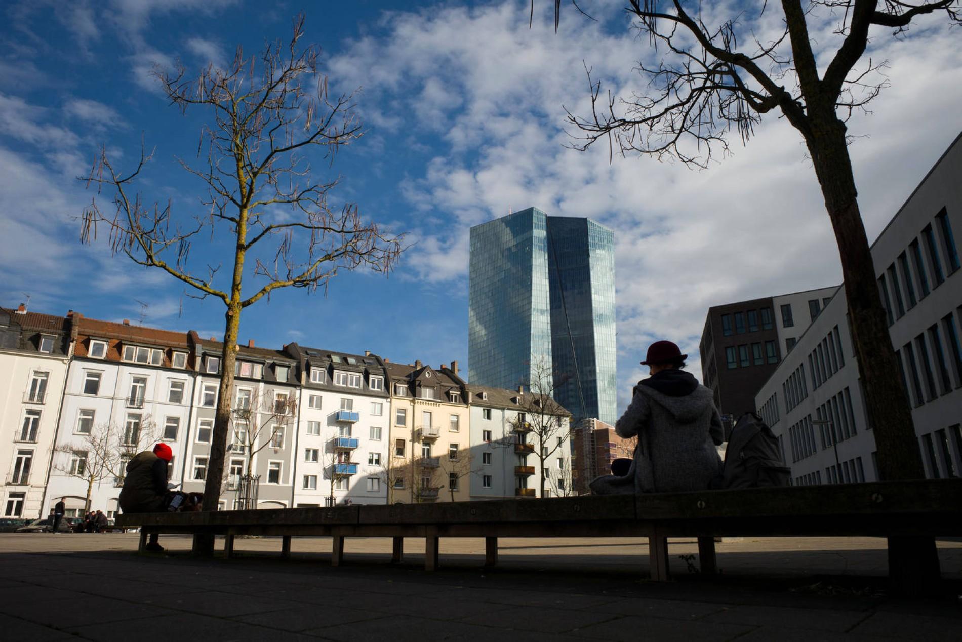 Das Frankfurter Ostend-Viertel um die EZB verändert sich