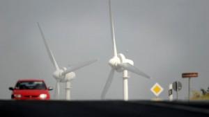 Immer weniger Standorte für Windräder