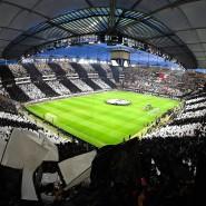 Magisch wird so manche Nacht im Frankfurter Stadion auch durch die Fantasie der Eintracht-Anhänger.