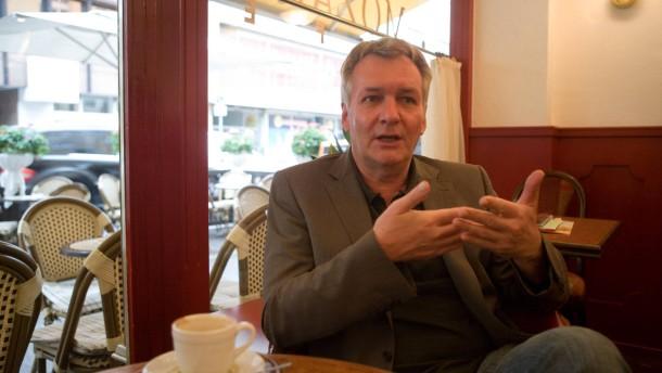 Matthias Altenburg - Der Schriftsteller mit dem Künstlernamen Jan Seeghers aus Frankfurt im Gespräch.