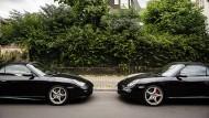 Sportwagen, Villa: Diese Reichen scheinen etwas richtig gemacht zu haben.