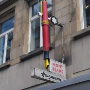 Aufrecht: Haizmann verkauft seit mehr als 100 Jahren Füllhalter.
